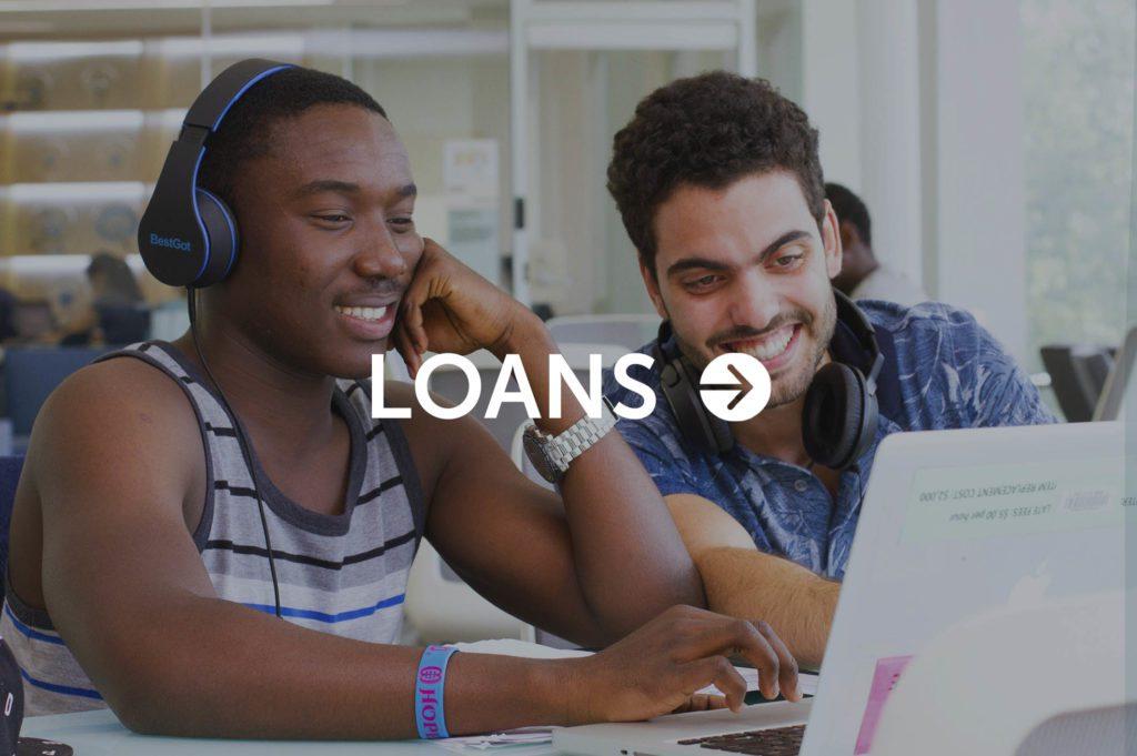 Loans button