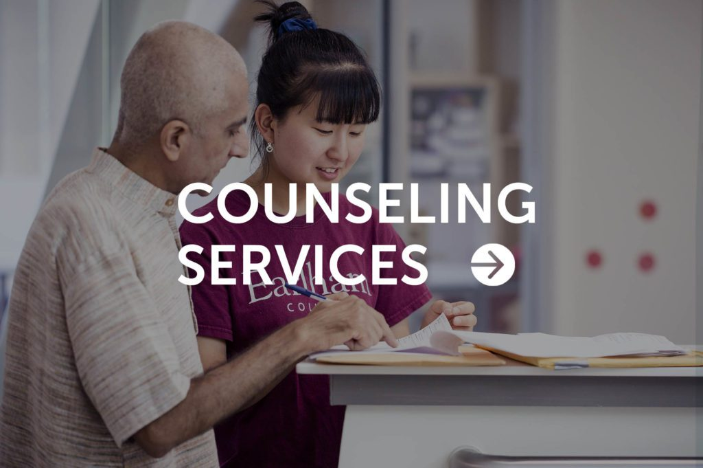 Counseling services button